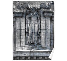 Outer Dome Statue Poster