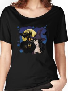 Dark Witch and Castle Women's Relaxed Fit T-Shirt