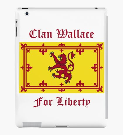 Wallace - Scottish Clan iPad Case/Skin
