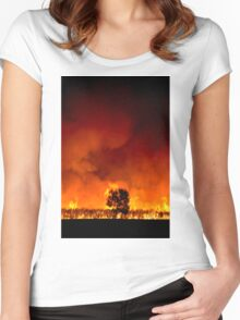 Fields of Fire Women's Fitted Scoop T-Shirt