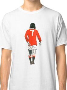 Gorgeous George Best Tribute Manchester United No.7 Classic T-Shirt