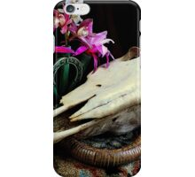 Western Union - Cactus With Orchids iPhone Case/Skin