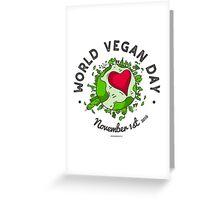 World Vegan Day Greeting Card