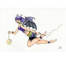 Halloween Fairy Photographic Print