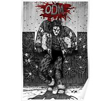 ODM - Against the wall Poster
