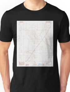 USGS TOPO Map California CA Bitter Spring 288457 1986 24000 geo Unisex T-Shirt