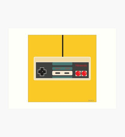 Nintendo Old School Art Print