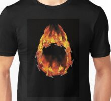 Eves Halo - Fire against black Unisex T-Shirt