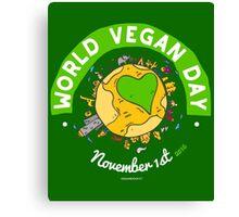 World Vegan Day Canvas Print