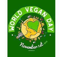 World Vegan Day Photographic Print
