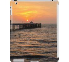 Penarth Pier at Sunrise   iPad Case/Skin