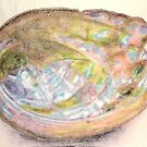Abalone shell by Peter Brandt