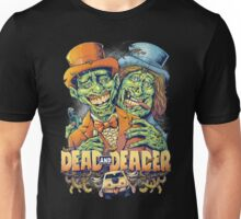 Dead and Deader Zombie Tribute to Dumb and Dumber Unisex T-Shirt