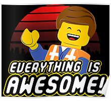 Everything is awesome! Poster