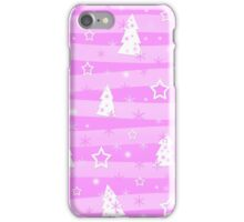 Pink Xmas magic iPhone Case/Skin