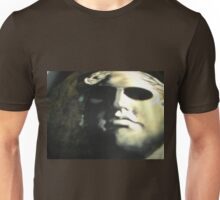 Photo of a stone face Unisex T-Shirt