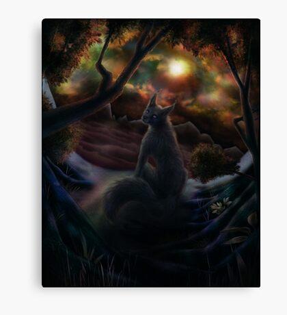 Desolate Expanse Canvas Print