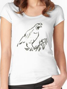 QUAIL Women's Fitted Scoop T-Shirt