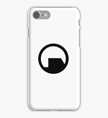 Black Mesa iPhone Case/Skin