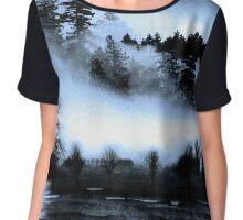Dark Forest Chiffon Top