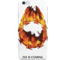 ODM - Eves burning halo white iPhone Case/Skin