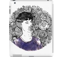 Say It With Flowers iPad Case/Skin