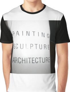 Art,sculpture sign Graphic T-Shirt