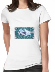 80s Sinclair C5 Womens Fitted T-Shirt