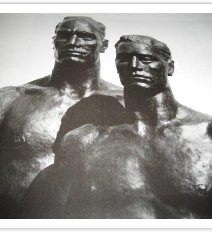 Sculptured men Sticker
