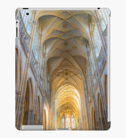 Czech Republic. Prague. Cathedral. Gothic Vaults. iPad Case/Skin