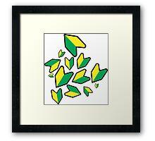 Jdm leaf Framed Print