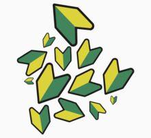 Jdm leaf Kids Tee