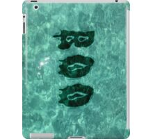 Boo, what you looking at? (BLACK) iPad Case/Skin