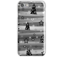Gray Xmas magic iPhone Case/Skin
