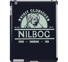 Visit Glorious Nilbog Troll 2 t shirt iPad Case/Skin