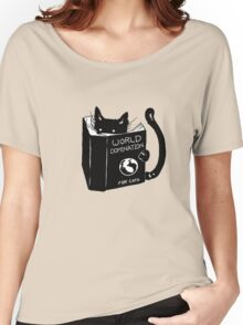 cat domination Women's Relaxed Fit T-Shirt