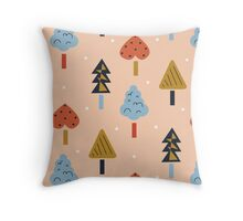 Jeune Arbre Throw Pillow