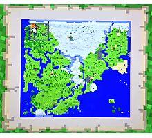 Mining Map King Size Duvet  Photographic Print