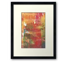 Abstract untitled Framed Print