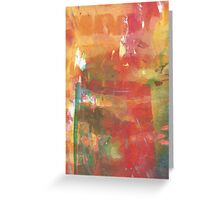 Abstract untitled Greeting Card