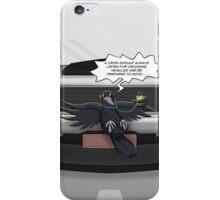 Crow Self-Help iPhone Case/Skin