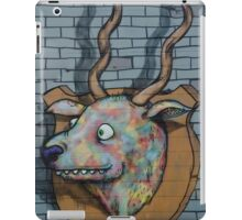 Deer Graffiti mural  iPad Case/Skin