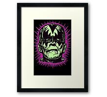 FranKISStein Rock Monster Framed Print
