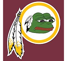 Redskins pepe Photographic Print