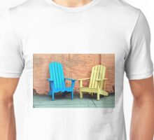 Sidewalk Chairs Unisex T-Shirt
