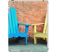 Sidewalk Chairs iPad Case/Skin