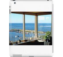 Seaside window view iPad Case/Skin