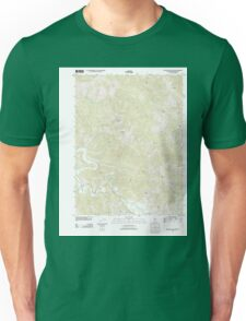 USGS TOPO Map California CA Buckeye Mountain 20120322 TM geo Unisex T-Shirt