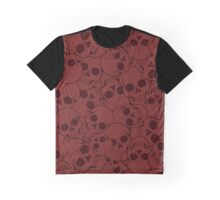 The pattern with skulls Graphic T-Shirt
