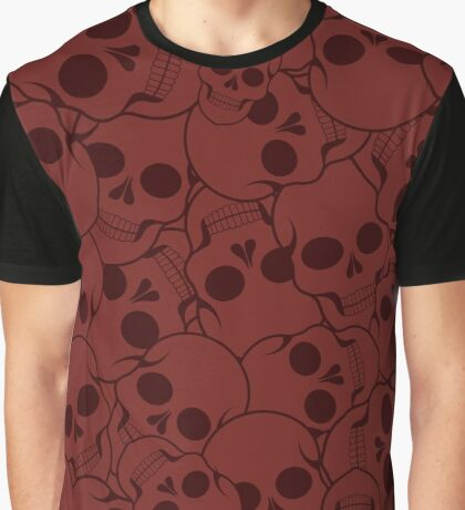 Pattern with skulls Graphic T-Shirt